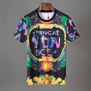 뜨거운 패션 디자이너 남자 T 셔츠 남성용 통풍 Tshirt 여름 짧은 소매 Mens 티 셔츠 medusa 짧은 소매 티셔츠