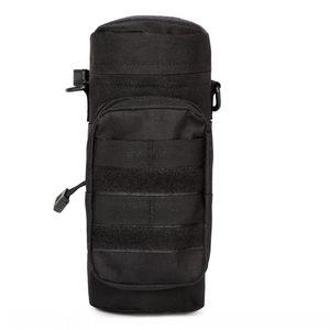 2020 Außen Molle Wasserflasche Pouch Tactical Gang Kettle Waist Schultertasche für Army-Fans Klettern Wandern Camping Wasser BagsFM