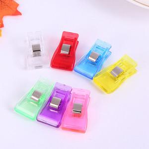Mini plastica Wonder Clip Holder per DIY tessuto patchwork quilting mestiere cucire maglieria Borsa clip RRA2538