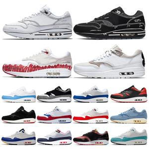 nike air max 1.0 Moda Knit 2.0 Fly Uomo Donna Scarpe da corsa Volt Multicolor Triple Nero Bianco Be True Red Orbit Mens Sneakers Sneakers Taglia 36-45