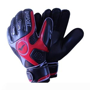 2017 Men Soccer Goalkeeper Gloves Wearable Slip Resistant Football Keeper Latex Goalie Gloves Professional Double Protection Fast Shipping