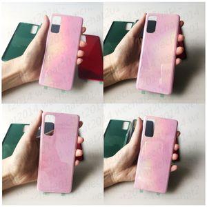 Yapıştırıcı Sticker ücretsiz DHL ile 30PCS OEM Pil Kapı Samsung Galaxy S20 Arka Konut Kapak Cam Kapak Plus Ultra
