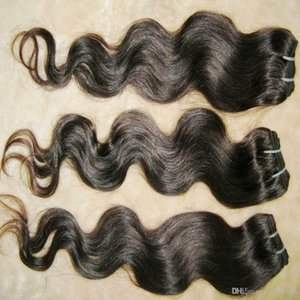 A Absolutely the best price Human hair weft Brazilian body wave 100% Human Hair 4pcs lot