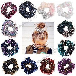 Русалка блесток аксессуары для волос для девочек детей моды Hairbands связи волос детские кольца Hairbands Аксессуары для волос
