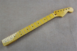 6 Strings Flame Maple Electric Guitar Neck with Bone nut,Maple Fingerboard,Can be customized as request