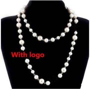 Luxury Designer Jewelry Necklace natural pearls necklace for women Long Sweater Chain Elegant fashion Jewelry accessories