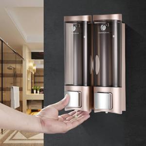 200 ml de líquido automático dispensador de jabón para montaje en pared loción del desinfectante espuma de ducha del champú Botella del gel de almacenamiento para Cocina Baño Aseo