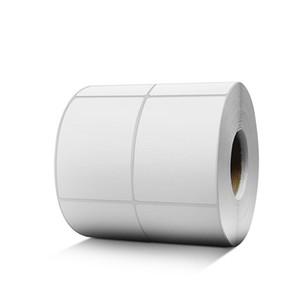 30 * 10mm -32 * 19mm blanc vierge enduit de papier à barres d'adhésif autocollant d'adhésif étiquette Nouvelle arrivée Impression Codes Numéro Square Number Labels Stickers