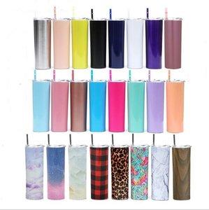 Bottiglia Bicchiere d'acqua in acciaio inox Bicchiere con coperchio Straws auto Tazze Thermos Coppe isolato vuoto Altri accessori Coltello DHB485