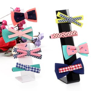 5pcs L Type Jeweler Hairclip Ornament Display Stand Rack Hairpin Hair ties hair pin accessory Stand Holder Storage Organizers
