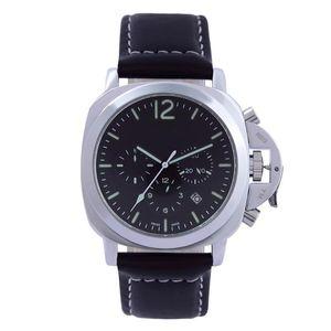 Designer Military Watch Men Mode Sport Casual Hommes Quartz cuir Montre Homme Reloj de los hombres Reloj de cuero