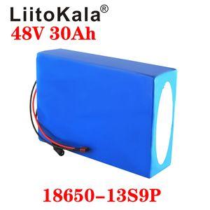 LiitoKala 18650 48V 30Ah 20AH 15ah 12ah 25Ah haute puissance vélo électrique Batterie vélo électrique 48V 18650 Batterie au lithium avec BMS
