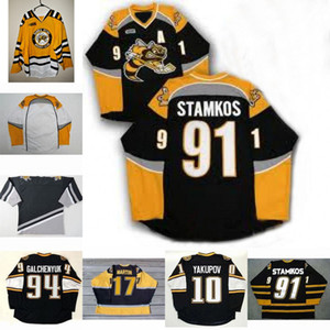 Sarnia sting Jersey 91 Стивен 17 Мартин Stamkos 94 Alex Galchenyuk 10 Nail Yakupov Mens Womens Youth Hockey Jersey
