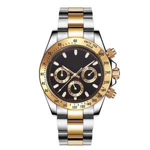 10 colores relojes para hombre de lujo 40mm 116500LN Reloj automático Papeles originales Bisel de cerámica Asia 2813 movimiento relojes para hombre reloj de oro 18k