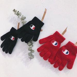 Frauen Männer Handschuhe Unisex Winter Strick Vollfingerhandschuhe Fäustlinge Kinder Winter Warm Kint Handschuh LJJK1792