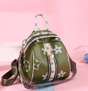 Padrão Bag de alta qualidade Designer de luxo Backpack Mulheres Shoulder Moda Casual mochila de grande capacidade das mulheres