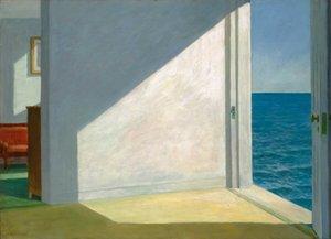 Edward Hopper Quartos By The Sea Home Decor pintado à mão HD cópia da pintura a óleo sobre tela Wall Art Canvas Pictures 200218