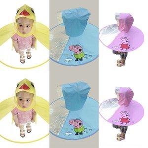 heS9f Tiktok детский НЛО Tiktok Дети пончо дождевик маленькая желтая утка детский сад брезент ребенка НЛО зонтик не одноразовые пончо