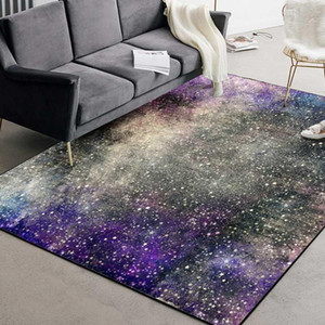 Galaxy Space Stars Large Carpets Living Room Decoration Bedroom Table Sofa Area Rugs Kitchen Non-Slip Floor Rug and Carpet