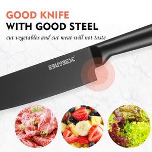 Japanese Kitchen Knife Set Aço Inoxidável 5
