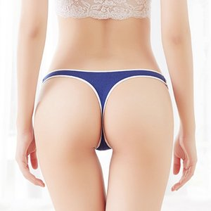 Sexy Women G String Cotton Panties Low Waist Soft Cotton Seamless Underwear Sport Style Briefs For Girls Fashion Tanga Femme