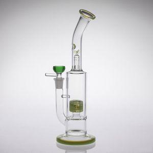 2020 Nouvelle Arrivée Lumière G GLASS BONGS fumer huile tuyau centrales de Bruce à fumer de l'eau truque bangs eau recyler accessoires fumeurs bongs en verre