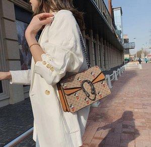 Designer de luxo Bolsas Bolsas Mulheres Mickey Cadeia Crossbody Bag Ladis Bolsas de Ombro irmã bolsa clássico da forma com caixa