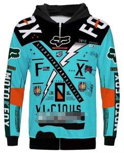 2020 ناسفة ركوب FOX دراجة نارية سترة مضادة للسقوط سترة الملابس عارضة دافئة