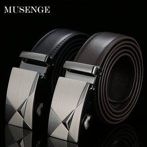 [MUSENGE] Кожаный ремень Дизайнерские ремни Мужские высококачественные мужские ремни Ceinture Homme Luxe Marque Cinturones Hombre Cinto Luxury Riem