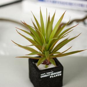 2 Farben Künstliche Kunststoff Blätter Gefälschte Sukkulente Microlandscape Blumenschmuck Hause Hochzeitsdekoration Indoor Dekorative Pflanze