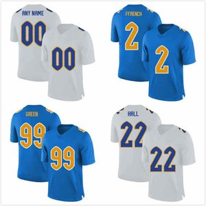 Personnalisé Pittsburgh Panthers Chase Pine Jersey 36 Cam Bright 38 Jake Scarton 49 Rashad Wheeler 54 Jimmy Morrissey 67 Bryce Hargrove 71 S-3XL