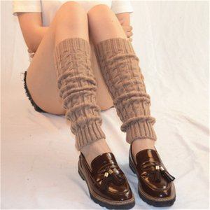 New Arrival Women Stockings Boot Cover Leg Cotton Warm Long Leg Warmers Yoga Winter Knitted Dance Leg Warmer Protect Knee Accessories M312Y