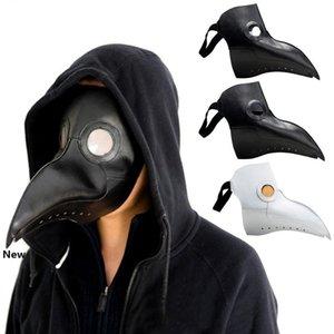Halloween Plague Doctor Mask Beak Crow Mask Fancy Masquerade Party Supplies Halloween Decoration Cosplay Masks HHA844