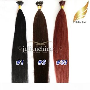 A 8a I -Tip Pre -Bonded Brazilian Human Hair 1g Strand ,100g Set ,20 &Quot ; #1 #2 #33 Hair Extensions Silky Straight Free Shipping