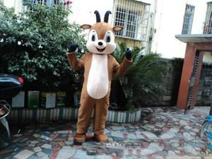 2020 nova alta qualidade ovelhas quente Mascot Costume Adult Tamanho Halloween cabra Mascot Costume frete grátis