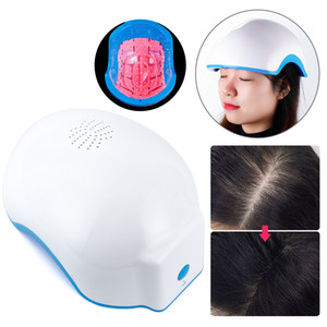 Cap Laser Light extensión de pelo bajo recargable láser nuevo crecimiento del pelo Casco 678nm tratamiento de la pérdida de pelo