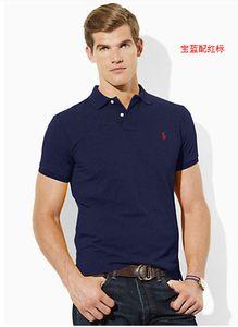 Polo Ralph Lauren de alta qualidade Polo Homens de algodão Sólidos Shorts Polo verão T-shirt do polo Casual Mens Pólos Camisas poloshirt VS8821