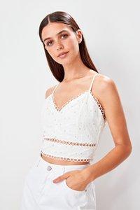 Trendyol Crop Pendant Bluz TBESS19BZ0239
