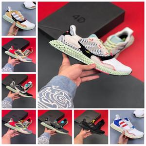 adidas ZX4000 4D 2019 nuova vendita Consorzio ZX 4000 FutureCraft 4D scarpe da corsa per gli uomini Mens BD7931 zx4000 Designer Trainer Sport Sneakers US5-11