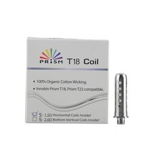 Kit autentica Innokin Endura T18 T18E Bobine 1.5ohm Replacemeng Coil testa per Innokin Endura Prism T18E Starter 100% Genuine