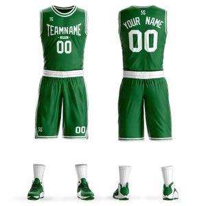 Quick-dry men's basketball training jersey for boys training team uniforms sets blank breathable pockets custom basketball jerseys