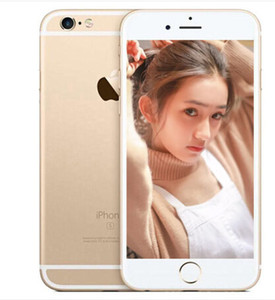 Recuperado Apple iPhone iphone6 ​​6 6s 6plus 16 / iPhone desbloqueado 64GB i6 Celular Dual-core iOS sistema com Touch ID 4G LTE Celular