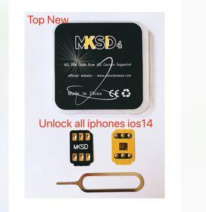 HEISS! HOT MKSD4 BLACK adhessive Kleberaufkleber ICCID Entriegelung alle Träger für ip11pro max 11 xsmax XR x 6/7/8 / zzgl Gevey pro heicardsim vsim
