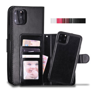 Cyberstore Phone Case Leather Walt Case Magnetic 2in1 Detachable Cover Cases For iPhone 11 Pro xs Max 7 8 Samsung Note10 S10 Plus
