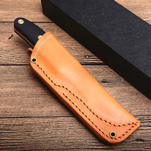 LN Выживание прямой нож D2 каплепадения сатин лезвия Full Tang G10 Handle Открытый Малые Охота закрепленное лезвие Ножи