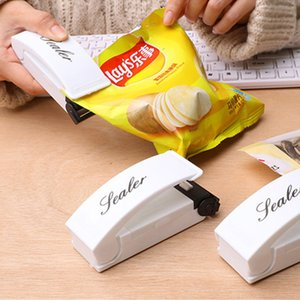 Bag Heat Sealer Mini Heat Sealing Machine Packing Plastic Bag Impulse Sealer Seal Portable Travel Hand Pressure Food Saver DBC BH2963