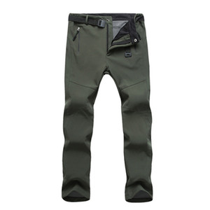 Hommes Pantalons imperméable Casual Mode pantalons pour la randonnée de ski Homme coupe-vent Pantalon de survêtement Pantalon tactique Sportsmen
