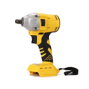 1/2 po auxilliaires Clé à chocs électrique sans fil tournevis électrique outil avec l'outil Wrenches impact LED