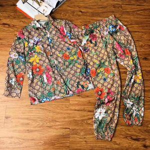 calças senhoras da qualidade 2020 Alta ajusta topos + calças 2pcs 8ITK primavera e verão casuais conjuntos de vestuário de moda