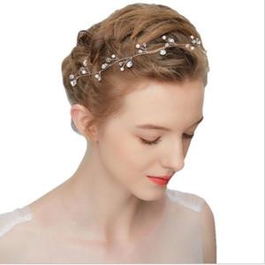 Braut Hochzeit Zubehör Kopfschmuck Hoop Water Drill Handmade Hair Ornament Girl